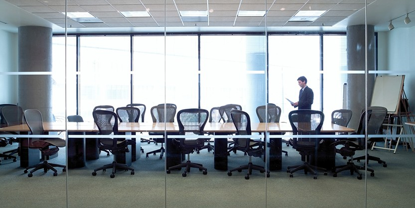 man in meeting room